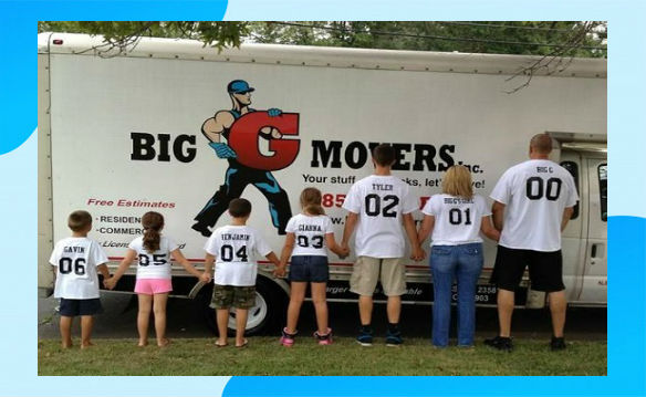Big G Movers Family